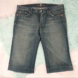 7 For All Mankind Pocket 7 Cropped Jeans
